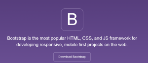 Mengenal Framework untuk web design bootstrap