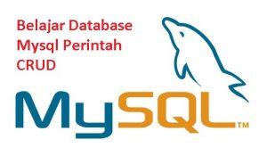Belajar Database Mysql Perintah CRUD