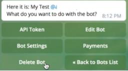 Membuat Bot telegram menggunakan python - Cara Setting Bot