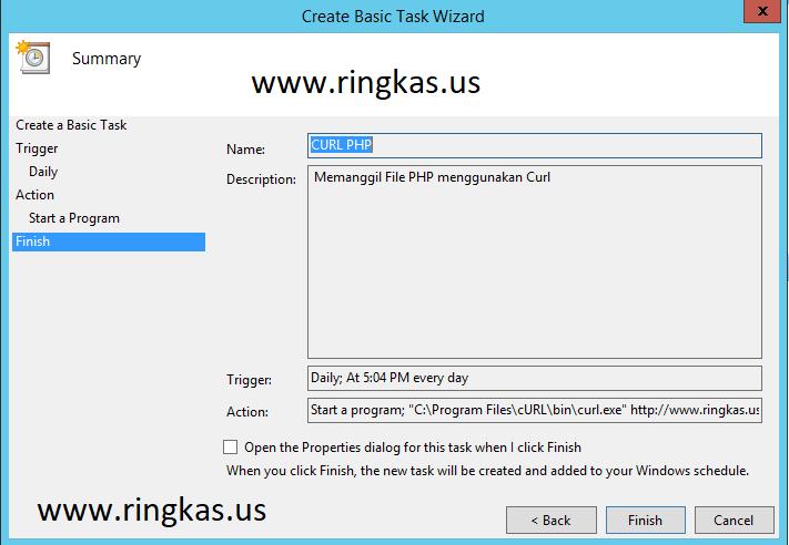 Cara Membuat Task Scheduler Semua Windows